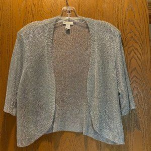 Chicos Shrug, Metallic, Sz. 2